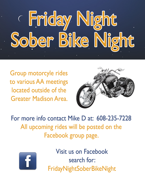 Friday Night Sober Bike Night