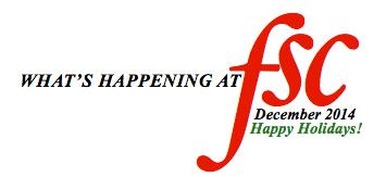 FSC Newsletter December 2014
