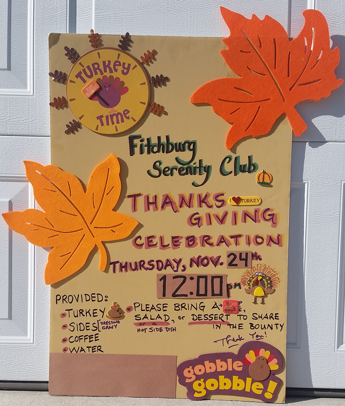 2016 FSC Thankgiving Poster