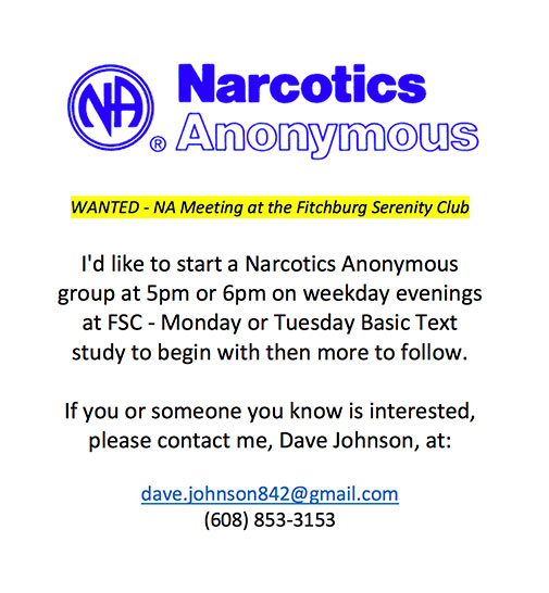 Narcotics Anonymous Meetings