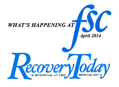 FSC April Newsletter + Recovery Today