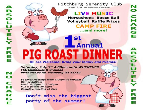 FSC Pig Roast Dinner