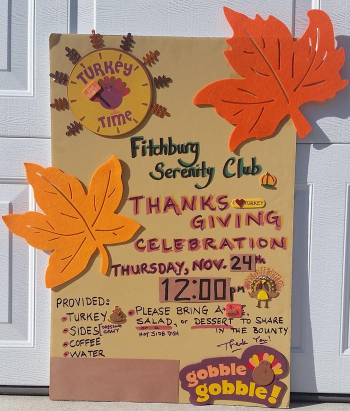 2016 FSC Thankgiving Poster