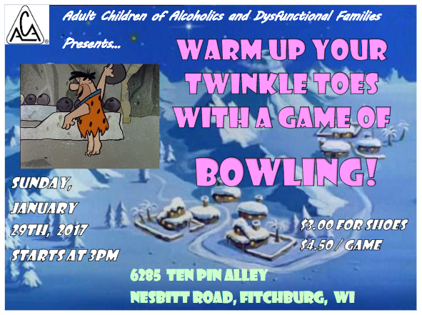 ACA Bowling Event January 2017