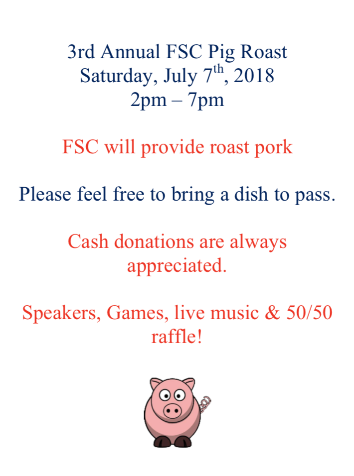 FSC 3rd Annual Pig Roast
